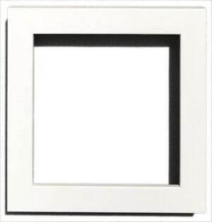 "400 White: Width: 3/4""; Height: 1 ¼;"