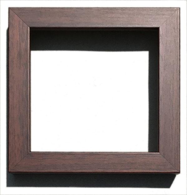 "400 Brown Walnut: Width: 3/4""; Height: 1 ¼;"